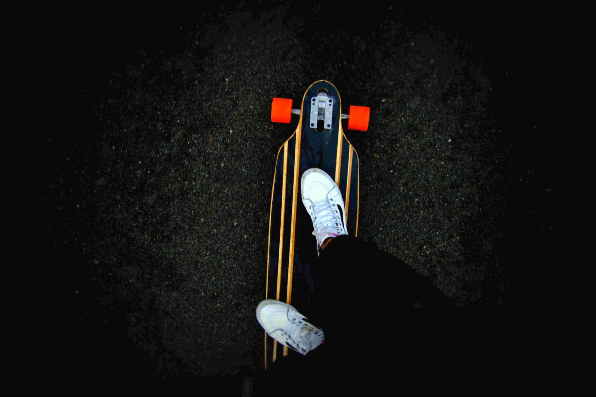 longboard drop thru