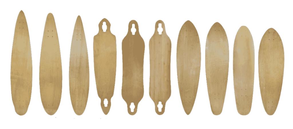 longboardove-desky