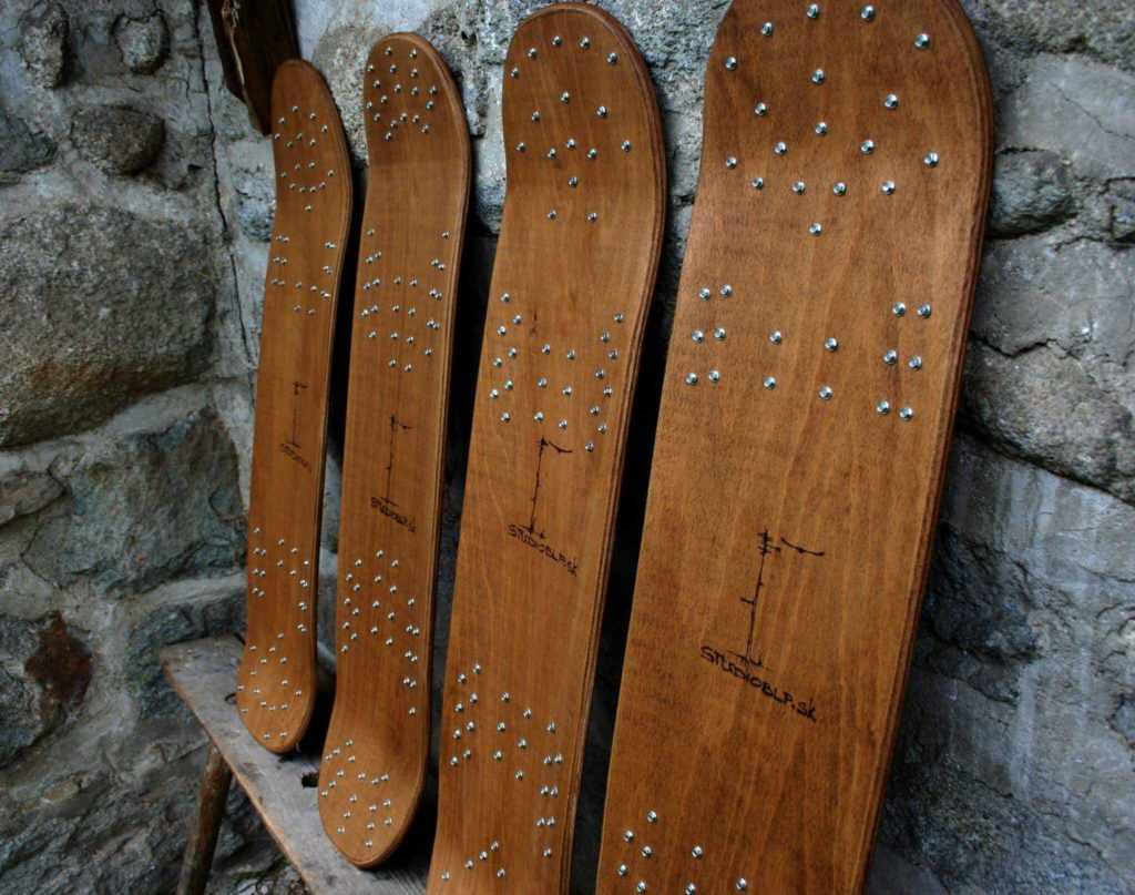 single deck snowskate